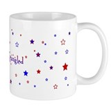 Star Spangled Patriotic Mug