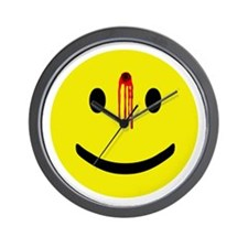 Dead Smiley Wall Clock
