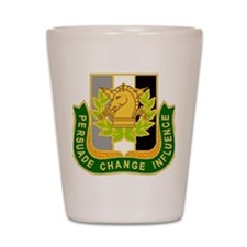 PSYOP Regimental Crest Shot Glass