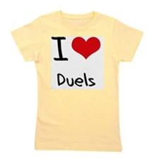 I Love Duels Girl's Tee