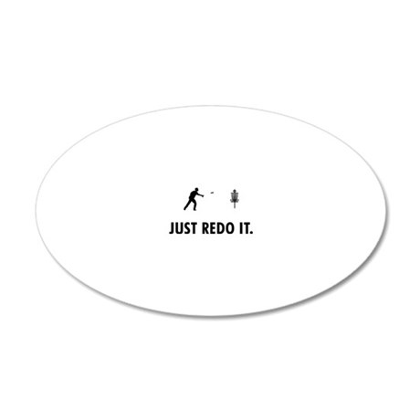 Disc-Golf-05-A 20x12 Oval Wall Decal