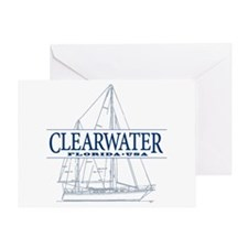 Clearwater Florida - Greeting Card