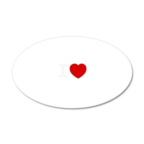 I love Kirsten Gillibrand 20x12 Oval Wall Decal