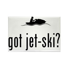 Jet-Skiing-02-A Rectangle Magnet