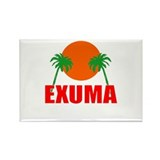 Exuma, Bahamas Rectangle Magnet (10 pack)