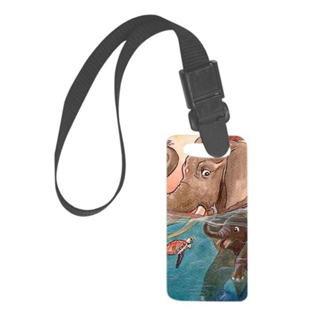 iphone4-elep Small Luggage Tag