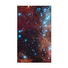 Galaxy of Stars Nebula Rectangle Car Magnet