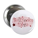 """Ballroom Diva"" [red] Button"