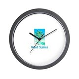 Grand Cayman Wall Clock