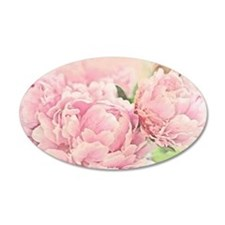 Pink Peonies Wall Decal