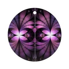 Fairy Wings Round Ornament