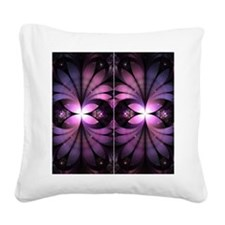 Fairy Wings Square Canvas Pillow