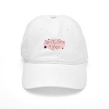 """""""Real Estate Diva"""" [red] Baseball Cap"""