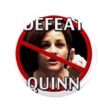 "Defeat Christine Quinn 3.5"" Button"