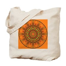 Harmony in Orange Tote Bag