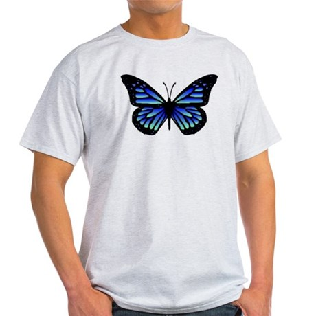 Blue Butterfly Light T-Shirt