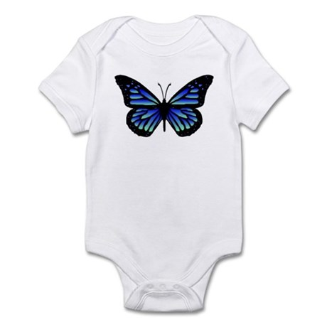 Blue Butterfly Infant Bodysuit