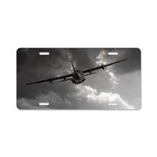 RAF C130 Aluminum License Plate