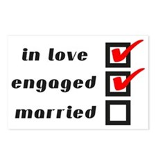 Engaged Postcards (Package of 8)