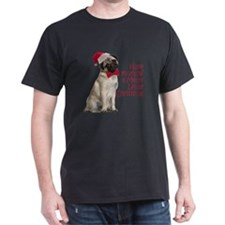 Santa Pug T-Shirt