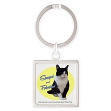 Spayed  Fab Square Keychain