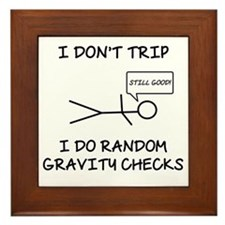 Gravity Check (Lt) Framed Tile