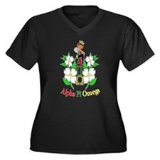 Queen on top Plus Size T-Shirt