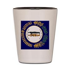 Kentucky Flag Shot Glass