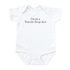 Tomato Soup diet Infant Bodysuit