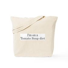 Tomato Soup diet Tote Bag