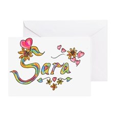 Sara Greeting Card