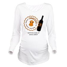 Erik Bottle Long Sleeve Maternity T-Shirt