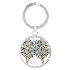 Meadow Lullaby Round Keychain