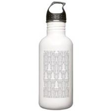 Rocket Science Damask Water Bottle