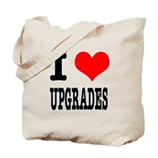 I Heart (Love) Upgrades Tote Bag