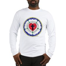 Luther Seal Stained Glass Moti Long Sleeve T-Shirt