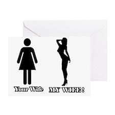 My WIFE Greeting Card