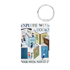 1957 Childrens Book Week Keychains