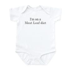Meat Loaf diet Infant Bodysuit