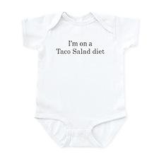 Taco Salad diet Infant Bodysuit