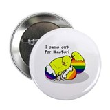I came out for Easter! Button