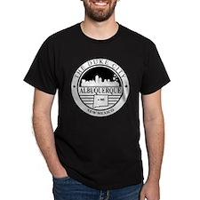 Albuquerque logo white and black  T-Shirt