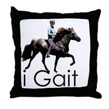 iGait Throw Pillow
