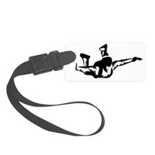 skydive Small Luggage Tag