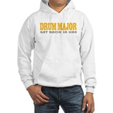 Funny Drum Major Hoodie
