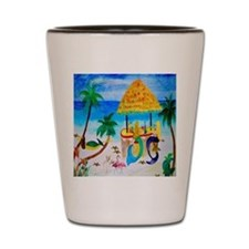 Mermaids Tiki Bar Shot Glass