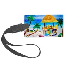 Mermaids Tiki Bar Luggage Tag