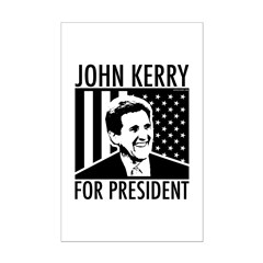 John Kerry For President. Mini Poster