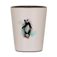 Circus Panda Shot Glass