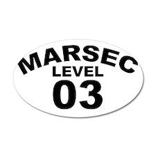 MARSEC Level 3 Wall Decal